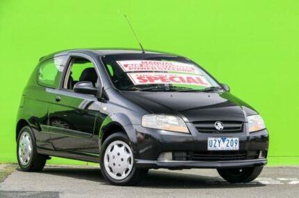 2007 Holden Barina TK MY07 Black 5 Speed Manual Hatchback Ringwood East Maroondah Area Preview