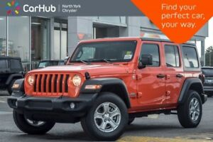 2018 Jeep Wrangler Unlimited New Car JL Sport S 4x4|Manual|ColdW