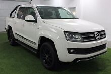 2016 Volkswagen Amarok  White Automatic Utility Moonah Glenorchy Area Preview