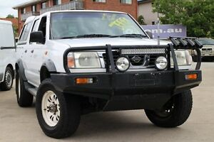 2001 Nissan Navara D22 MY2002 DX White 5 Speed Manual Utility Greenslopes Brisbane South West Preview
