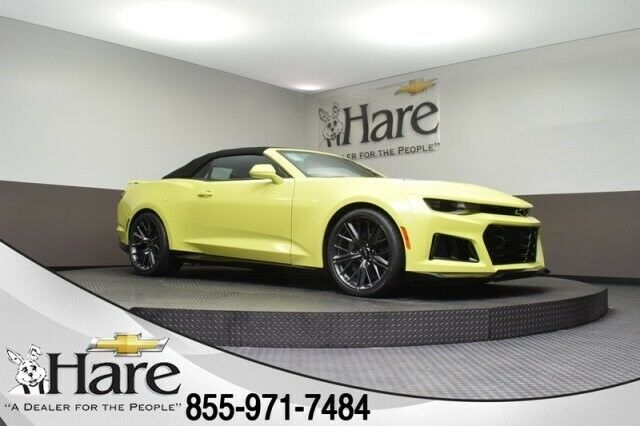 2020 Chevrolet Camaro ZL1 6 Miles Shock 2D Convertible 6.2L V8 Supercharged 10-S