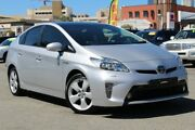 2015 Toyota Prius ZVW30R MY12 I-Tech Silver Pearl 1 Speed Constant Variable Liftback Hybrid Northbridge Perth City Area Preview