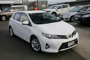 2015 Toyota Corolla ZRE182R Ascent Sport S-CVT White 7 Speed Constant Variable Hatchback Nunawading Whitehorse Area Preview