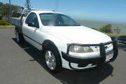 2006 Ford Falcon BF RTV Super Cab White 4 Speed Sports Automatic Cab Chassis South Gladstone Gladstone City Preview