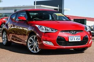 2012 Hyundai Veloster FS2 Coupe D-CT Red 6 Speed Sports Automatic Dual Clutch Hatchback East Rockingham Rockingham Area Preview