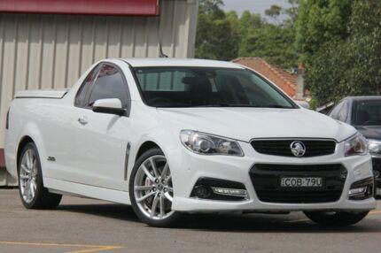 2013 Holden Ute VF SS-V Redline White 6 Speed Automatic Utility