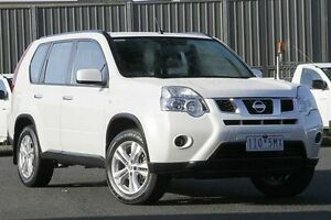 2011 Nissan X-Trail T31 Series IV ST 2WD White 6 Speed Manual Wagon Knoxfield Knox Area Preview