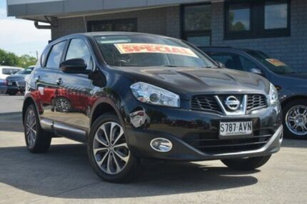 2012 Nissan Dualis J10W Series 3 MY12 Ti Hatch X-tronic 2WD Black 6 Speed Constant Variable Hillcrest Port Adelaide Area Preview