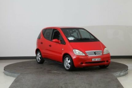 1999 Mercedes-Benz A160 W168 Avantgarde Red 5 Speed Sequential Manual Hatchback Smithfield Parramatta Area Preview