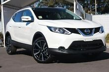 2016 Nissan Qashqai J11 TI White 1 Speed Constant Variable Wagon Meadow Heights Hume Area Preview