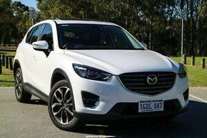 2016 Mazda CX-5 KE1032 Akera SKYACTIV-Drive AWD White 6 Speed Sports Automatic Wagon Wilson Canning Area Preview