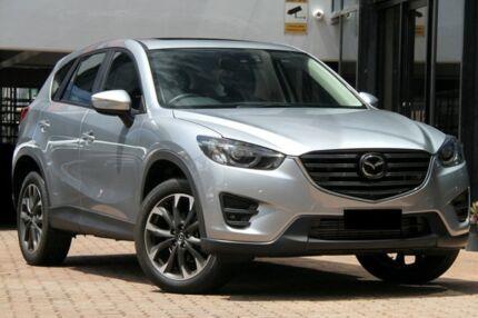 2016 Mazda CX-5 KE1022 Akera SKYACTIV-Drive AWD Sonic Silver 6 Speed Sports Automatic Wagon