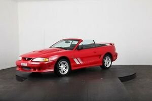 1998 Ford Mustang Red Manual Convertible Mulgrave Hawkesbury Area Preview