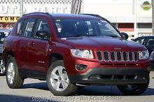 2013 Jeep Compass MK MY13 Sport CVT Auto Stick Red 6 Speed Constant Variable Wagon Mackay 4740 Mackay City Preview