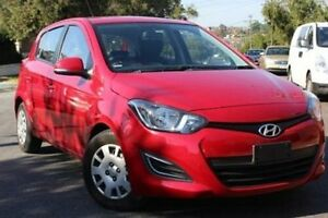 2015 Hyundai i20 PB MY12.5 Active Fire Red Hatchback Belmore Canterbury Area Preview