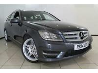 2014 14 MERCEDES-BENZ C CLASS 2.1 C220 CDI BLUEEFFICIENCY AMG SPORT 5DR AUTOMATI