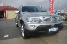 2005 BMW X5 E53 3.0D Silver 6 Speed Automatic Wagon Wangara Wanneroo Area Preview