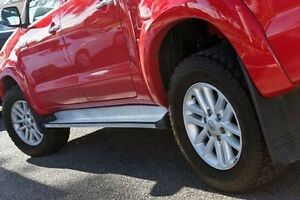 2013 Toyota Hilux Red Automatic Utility Keysborough Greater Dandenong Preview