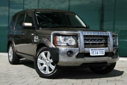 2013 Land Rover Discovery 4 Series 4 L319 MY13 SDV6 HSE Brown 8 Speed Auto Seq Sportshift Wagon Victoria Park Victoria Park Area Preview