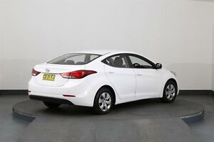 2014 Hyundai Elantra MD Series 2 (MD3) Active White 6 Speed Automatic Sedan Smithfield Parramatta Area Preview