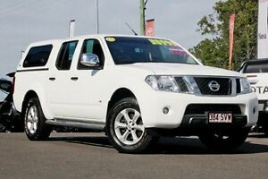 2012 Nissan Navara D40 S5 MY12 ST-X White 7 Speed Sports Automatic Utility Monkland Gympie Area Preview