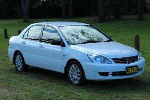 2007 Mitsubishi Lancer CH MY07 ES White 4 Speed Auto Sports Mode Sedan Port Macquarie Port Macquarie City Preview