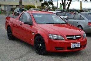 2009 Holden Ute VE MY09.5 Omega Red 4 Speed Automatic Utility Wangara Wanneroo Area Preview