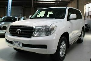 2010 Toyota Landcruiser VDJ200R GXL White Sports Automatic Wagon Knoxfield Knox Area Preview