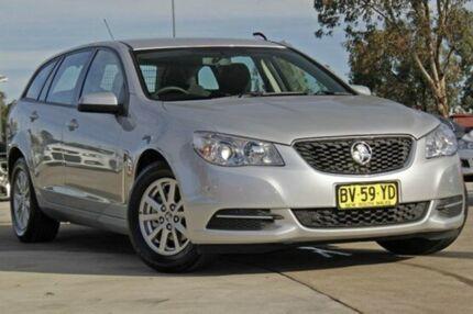 2013 Holden Commodore VF MY14 Evoke Sportwagon Silver 6 Speed Auto Seq Sportshift Wagon Penrith Penrith Area Preview