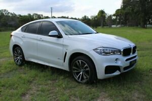 2015 BMW X6 F16 xDrive30d Coupe Steptronic White 8 Speed Sports Automatic Wagon Ormeau Gold Coast North Preview