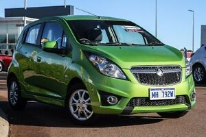 2014 Holden Barina Spark MJ MY15 CD Green 4 Speed Automatic Hatchback East Rockingham Rockingham Area Preview