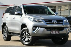 2015 Toyota Fortuner GUN156R Crusade Silver Sky 6 Speed Automatic Wagon Woolloongabba Brisbane South West Preview
