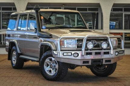 2012 Toyota Landcruiser VDJ76R MY10 GXL Gold 5 Speed Manual Wagon Melville Melville Area Preview