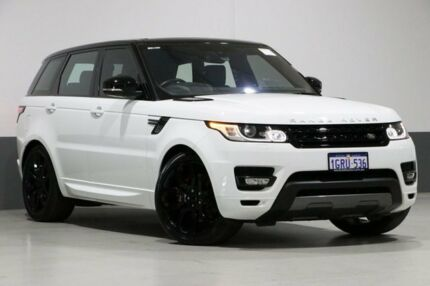 2015 Land Rover Range Rover LW MY16 Sport 3.0 SDV6 HSE Dynamic White 8 Speed Automatic Wagon Bentley Canning Area Preview