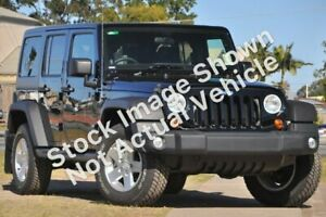2012 Jeep Wrangler JK MY2012 Unlimited Sport Black 5 Speed Automatic Softtop Mill Park Whittlesea Area Preview