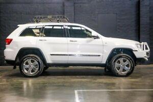 2013 Jeep Grand Cherokee WK MY2013 Laredo White 5 Speed Sports Automatic Wagon