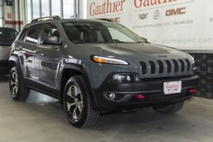 2014 Jeep Cherokee Trailhawk 4x4, Nav, Sunroof, Leather