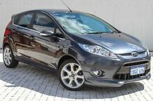 2010 Ford Fiesta WS Zetec Grey 4 Speed Automatic Hatchback Embleton Bayswater Area Preview