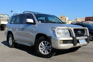 2007 Toyota Landcruiser VDJ200R GXL Silver Pearl 6 Speed Sports Automatic Wagon Northbridge Perth City Area Preview