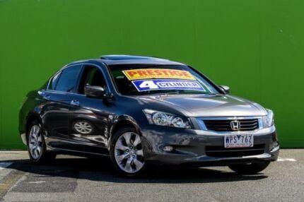 2008 Honda Accord 8th Gen VTi-L Graphite Grey 5 Speed Sports Automatic Sedan Ringwood East Maroondah Area Preview