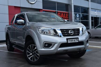 2017 Nissan Navara D23 S2 ST-X King Cab Silver 7 Speed Sports Automatic Utility Penrith Penrith Area Preview