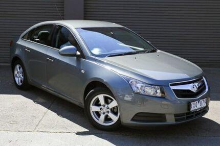 2010 Holden Cruze JG CD Grey 6 Speed Auto Seq Sportshift Sedan South Melbourne Port Phillip Preview