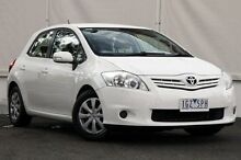 2012 Toyota Corolla ZRE152R MY11 Ascent Glacier White 4 Speed Automatic Hatchback Upper Ferntree Gully Knox Area Preview