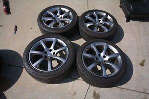 OEM Infinity 05-06 G35 Rims with Hankook IPike Winter Tires