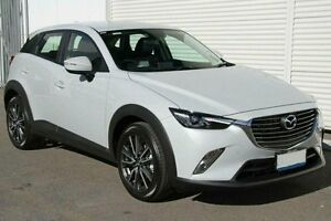 2016 Mazda CX-3 DK AS NEW 1,200KMS S TOURING AWD Pearl White 6 Speed Automatic Wagon Wangara Wanneroo Area Preview