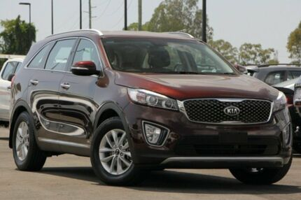 2017 Kia Sorento UM MY17 Si AWD Red 6 Speed Sports Automatic Wagon Brendale Pine Rivers Area Preview