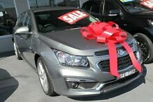 2015 Holden Cruze JH Series II MY15 SRi-V Grey 6 Speed Sports Automatic Hatchback Pennant Hills Hornsby Area Preview