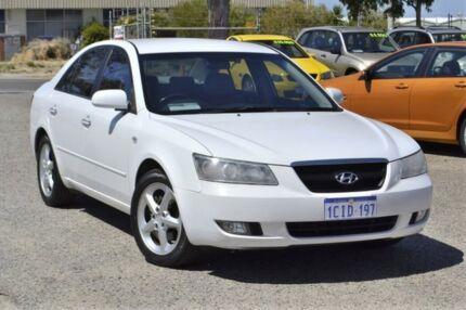 2006 Hyundai Sonata NF Elite White 5 Speed Automatic Sedan Wangara Wanneroo Area Preview