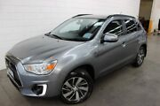 2015 Mitsubishi ASX XB MY15 LS 2WD Grey 6 Speed Constant Variable Wagon Burnie Area Preview
