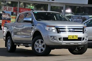 2011 Ford Ranger PX XLT 3.2 (4x4) Silver 6 Speed Manual Dual Cab Utility Dee Why Manly Area Preview